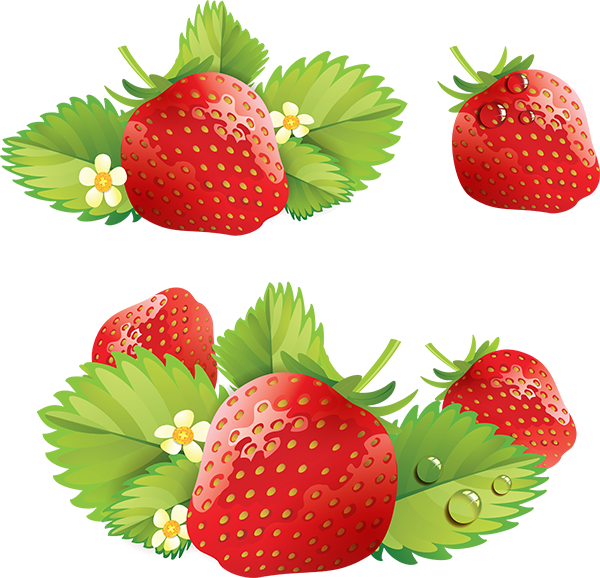 Strawberry cream cake clip. Strawberries clipart splash
