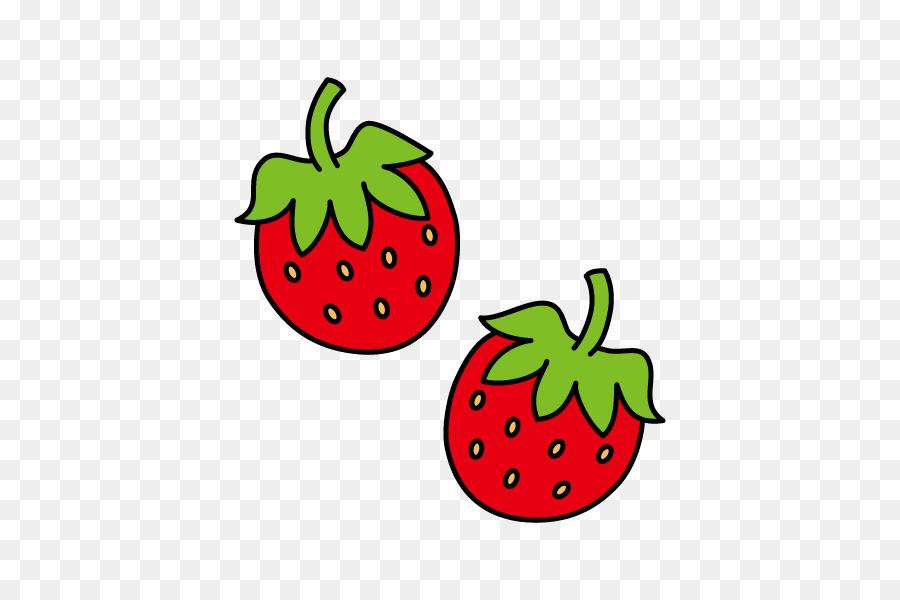 Strawberry fruit clip art. Strawberries clipart stem