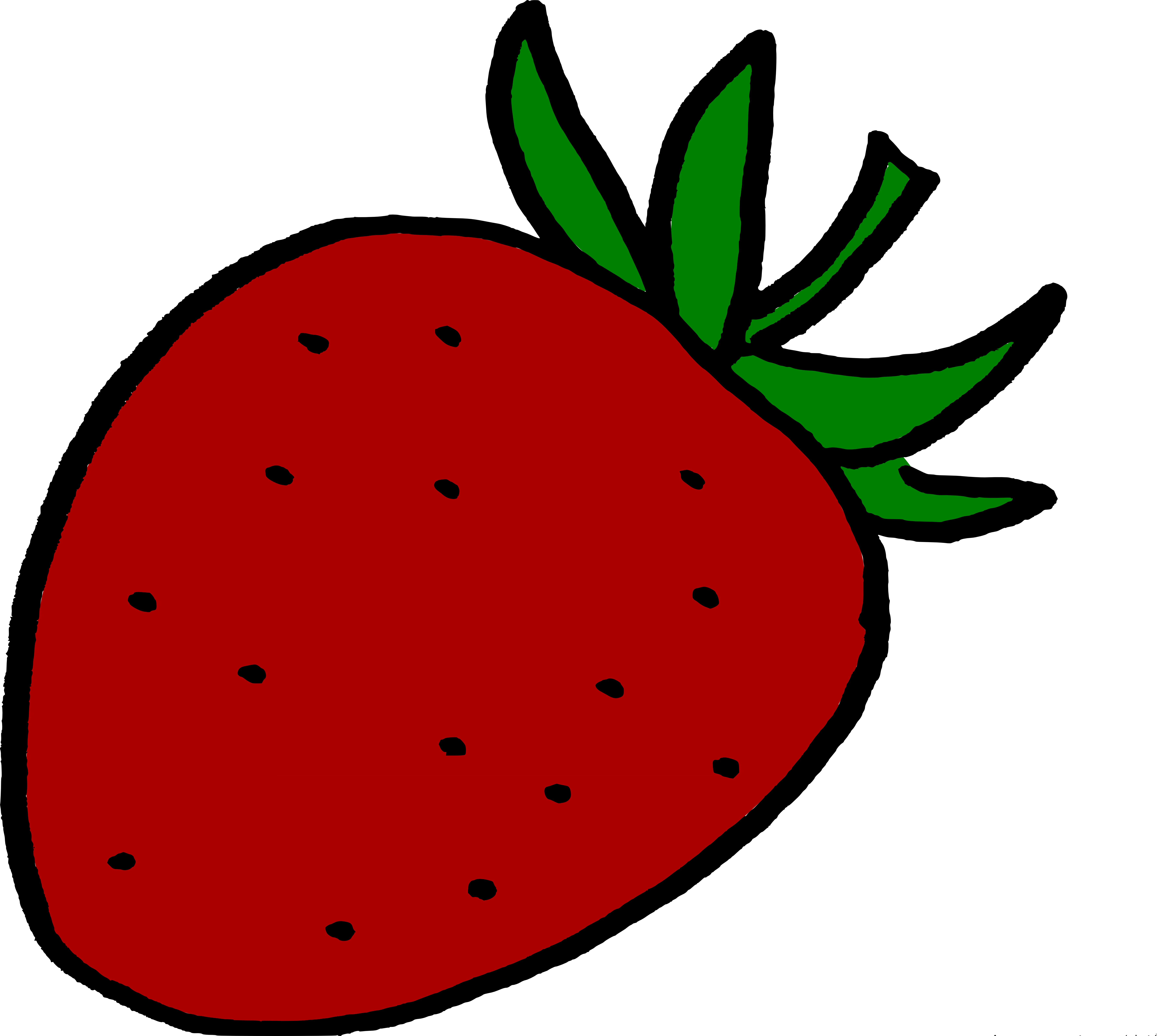 Strawberries clipart stem. Is it a vegetable