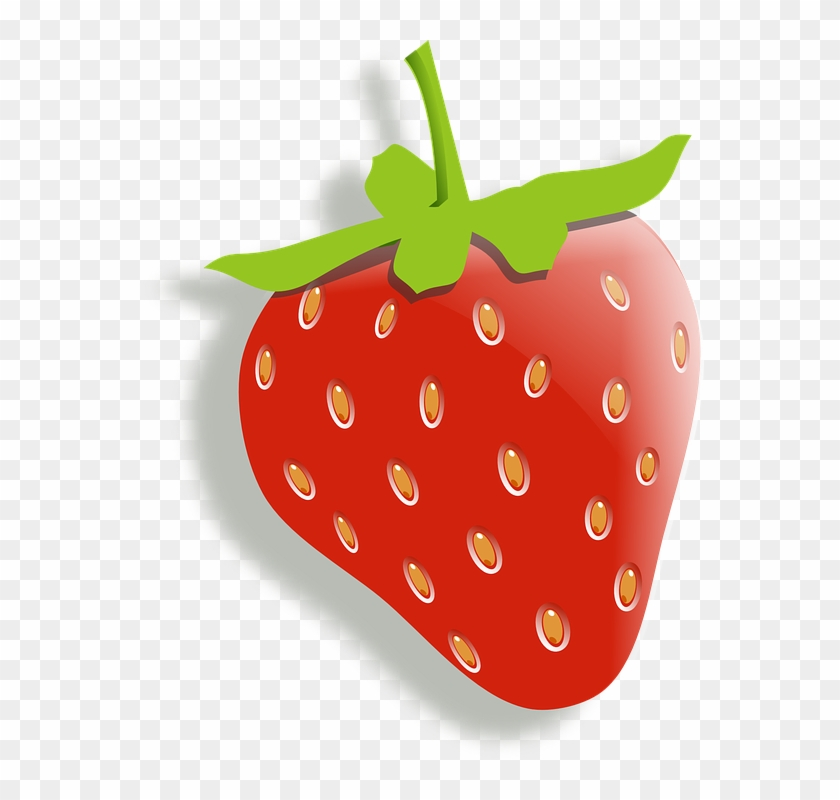 Strawberries clipart stem. Strawberry fruit food red