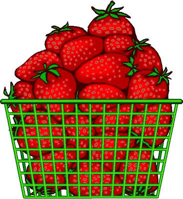 Free pictures of download. Strawberries clipart strawberry basket