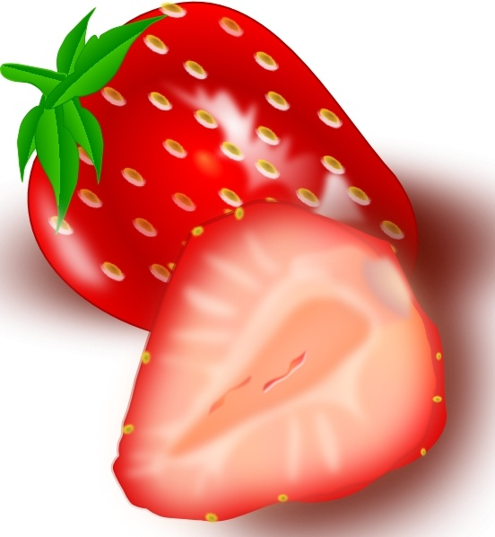 Clip art free vector. Strawberries clipart strawberry drawing