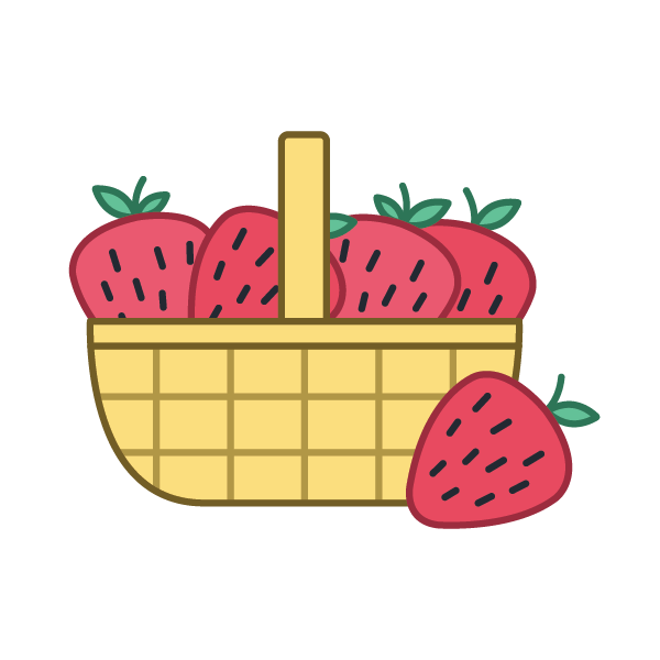 Spring fruits expii solve. Strawberries clipart strawberry farm