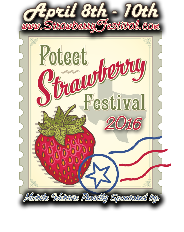 Strawberries clipart strawberry festival. Poteet texas april every