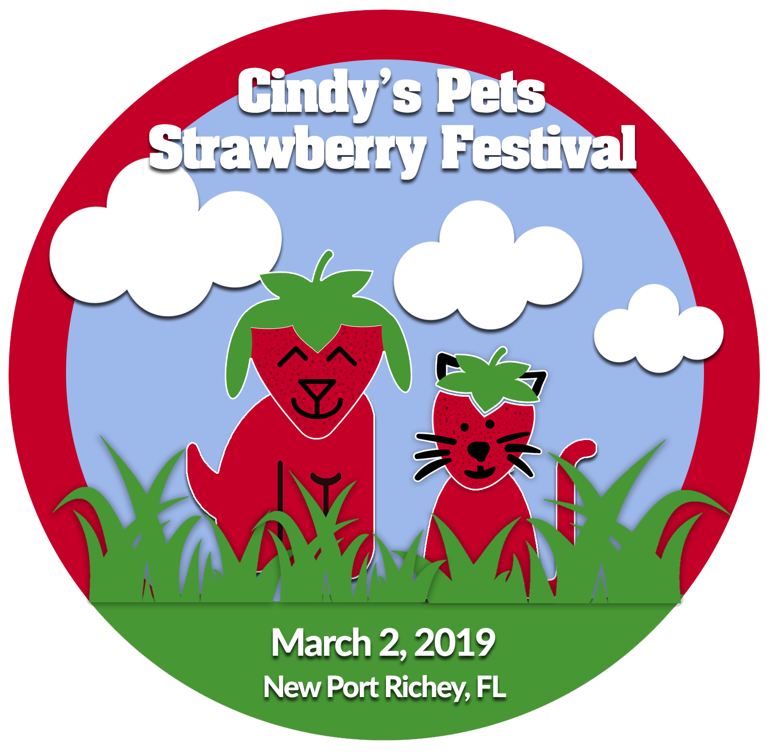 Cindys pets cindy s. Strawberries clipart strawberry festival