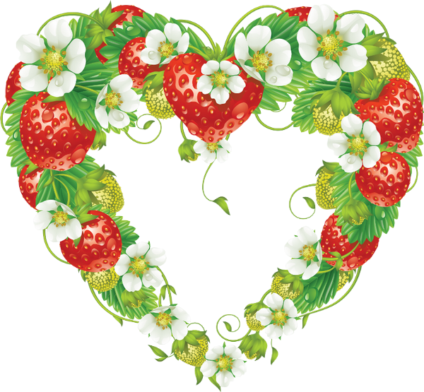 Pin by marina on. Strawberries clipart strawberry field