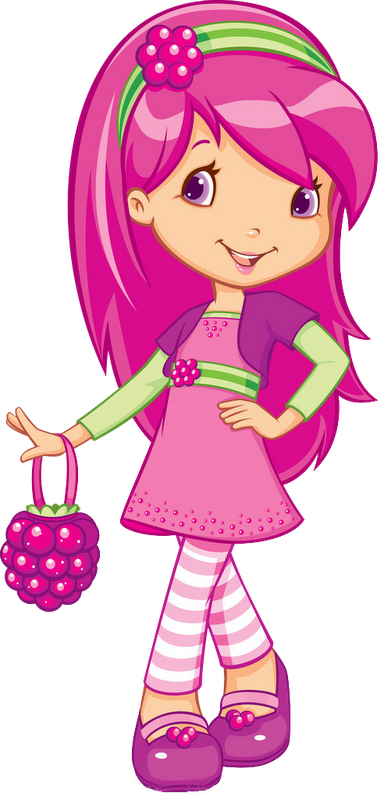 Strawberries clipart strawberry girl. Marcos para photoshop y