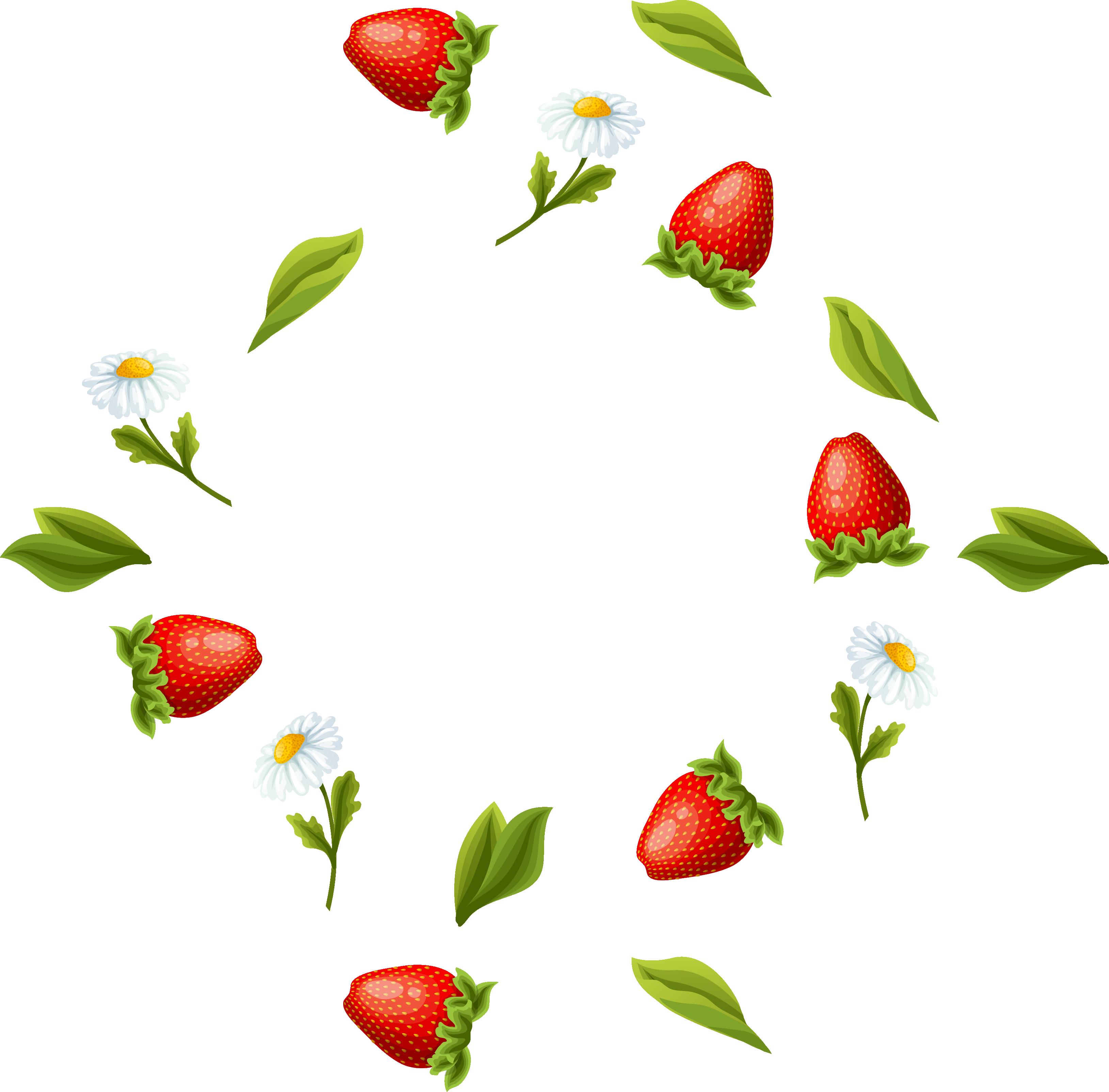 Gelatin dessert marmalade fruit. Strawberries clipart strawberry leave