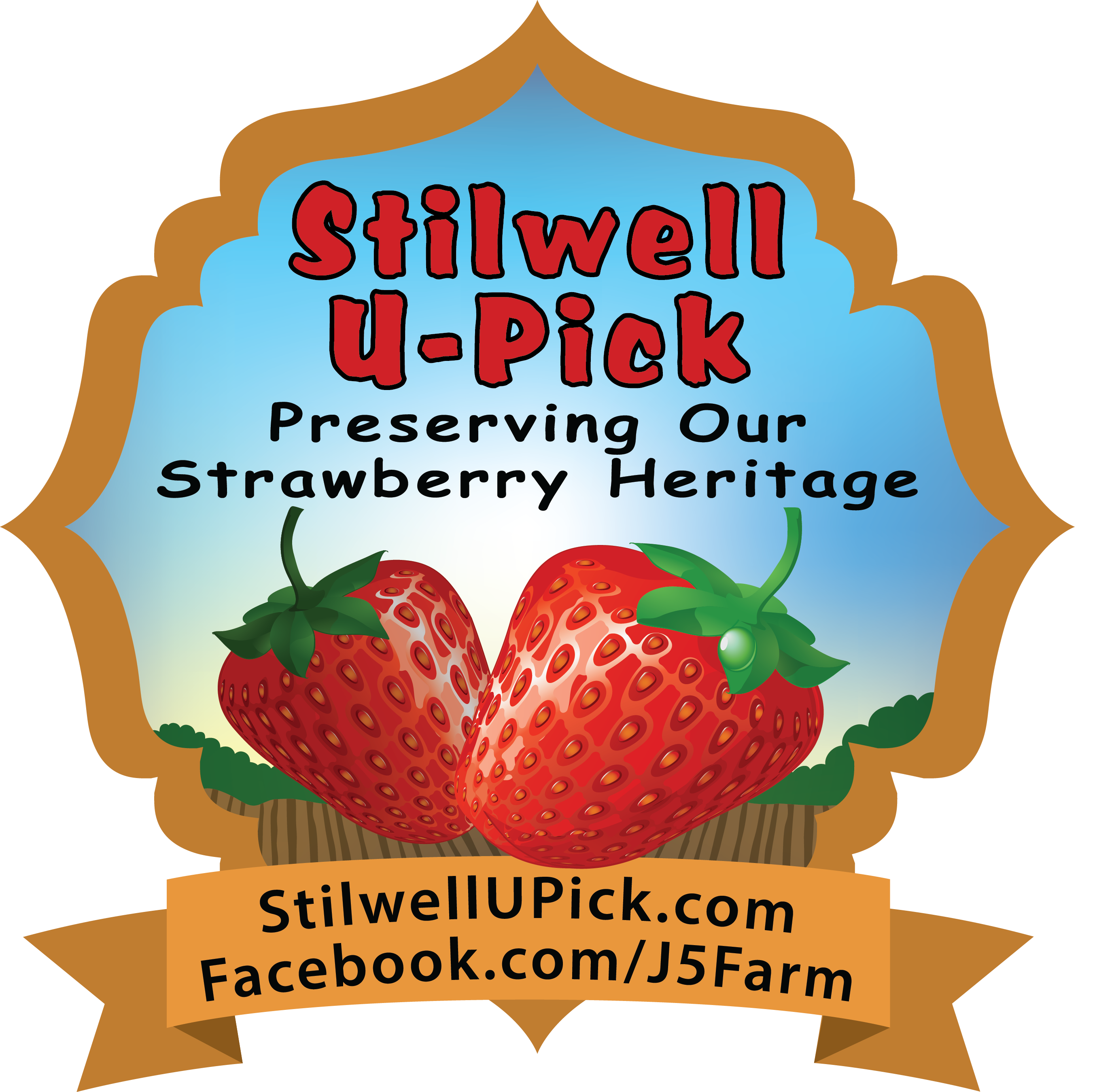 Stilwell u pick preserving. Strawberries clipart strawberry patch