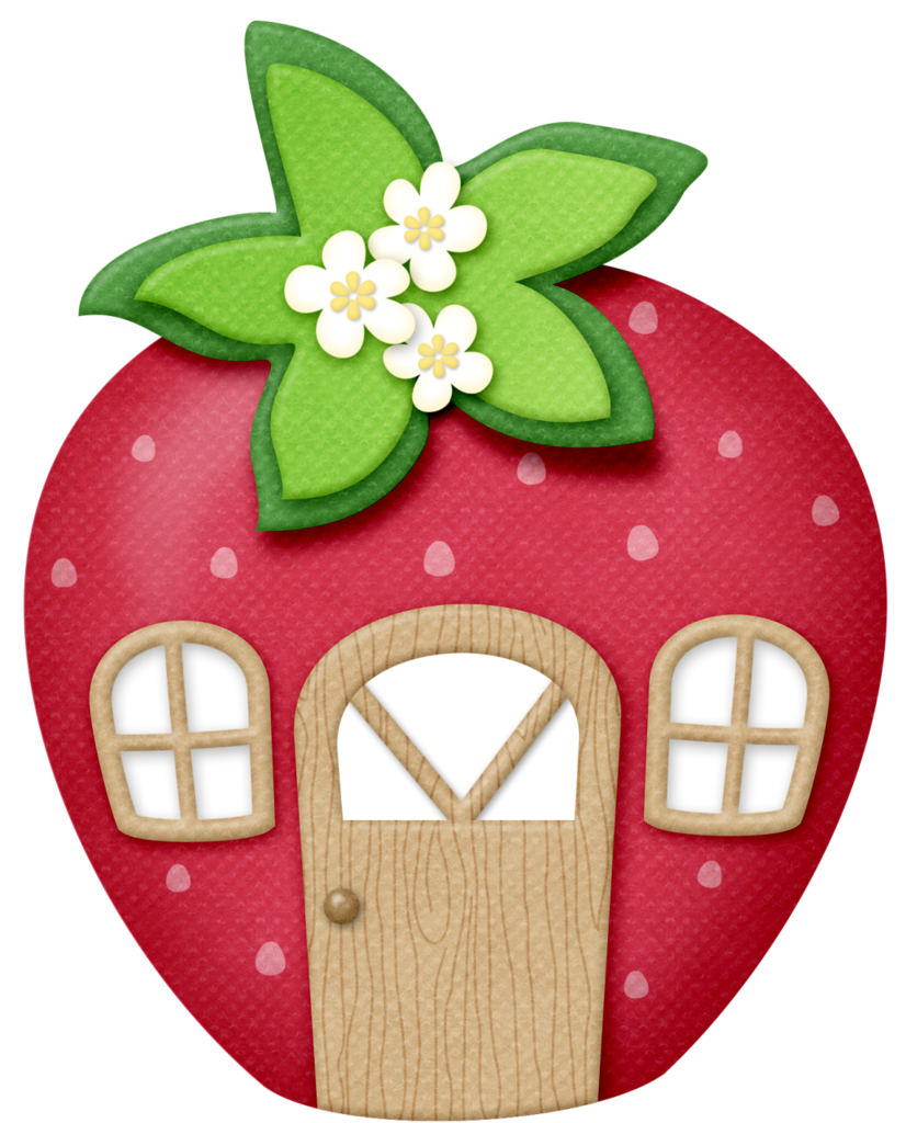 Strawberries clipart strawberry patch. Lliella strawberrykisses house png