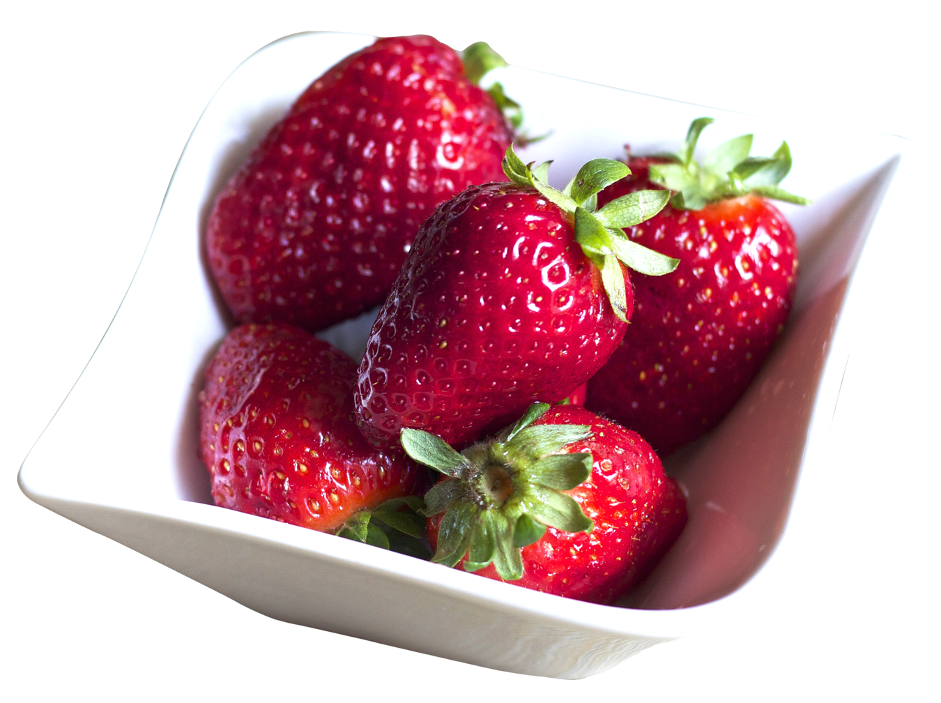 Strawberries clipart strawberry slice. Bowl filled with fresh