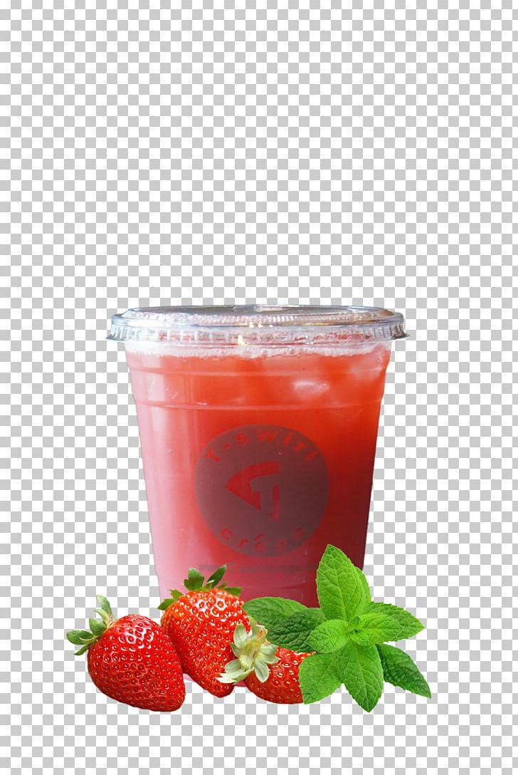 Strawberries clipart strawberry tea. Juice iced cocktail garnish
