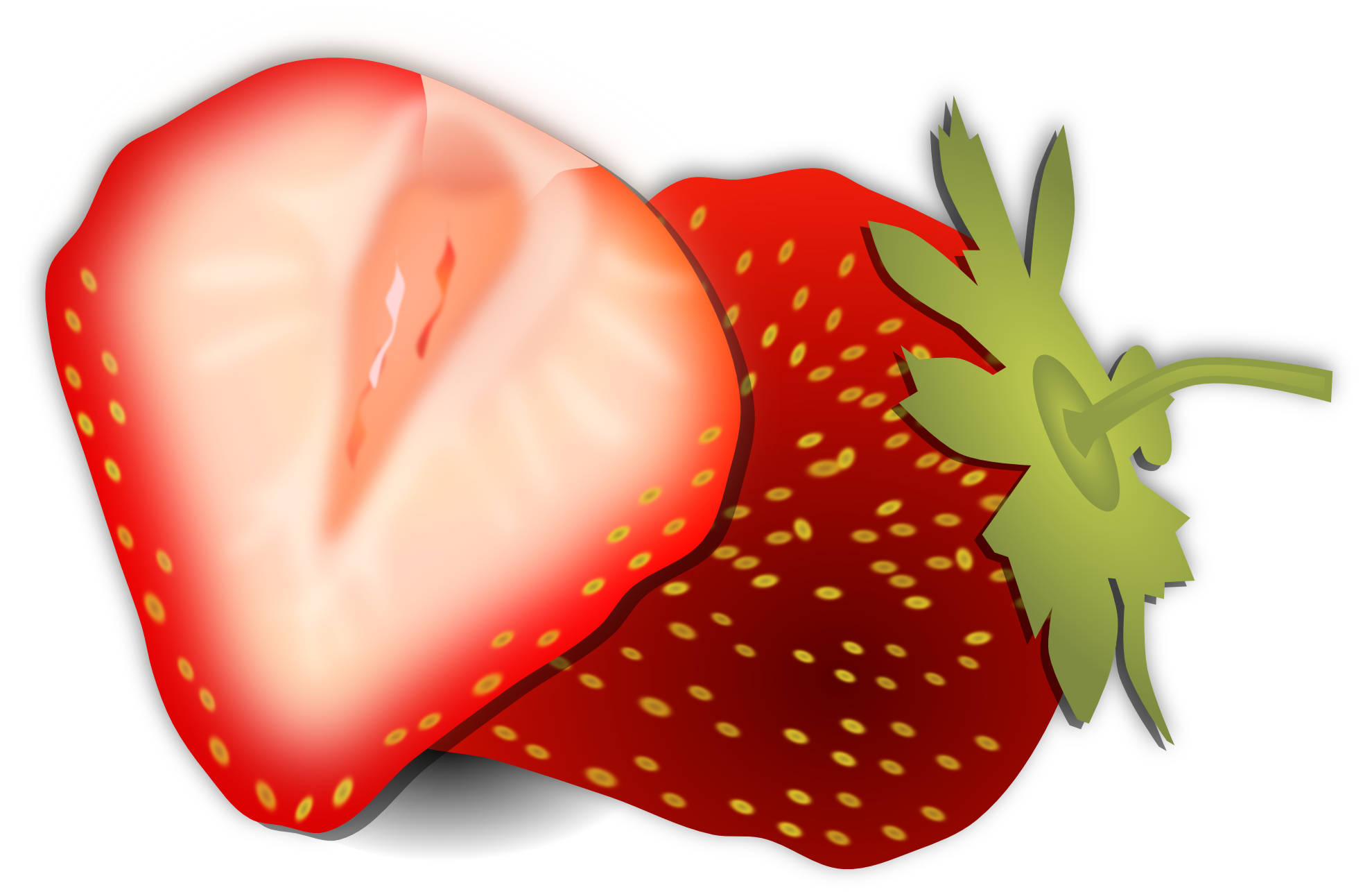 Clipartist net clip art. Strawberries clipart svg