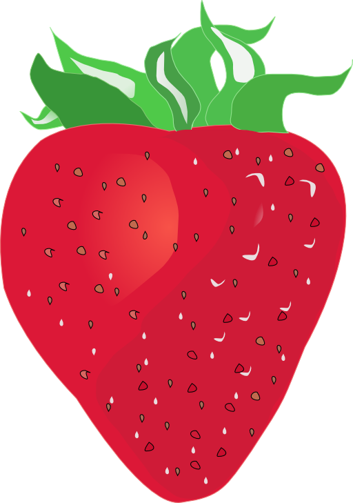 Strawberry i royalty free. Strawberries clipart svg