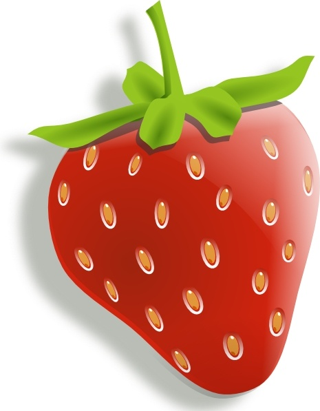 Strawberry clip art free. Strawberries clipart svg