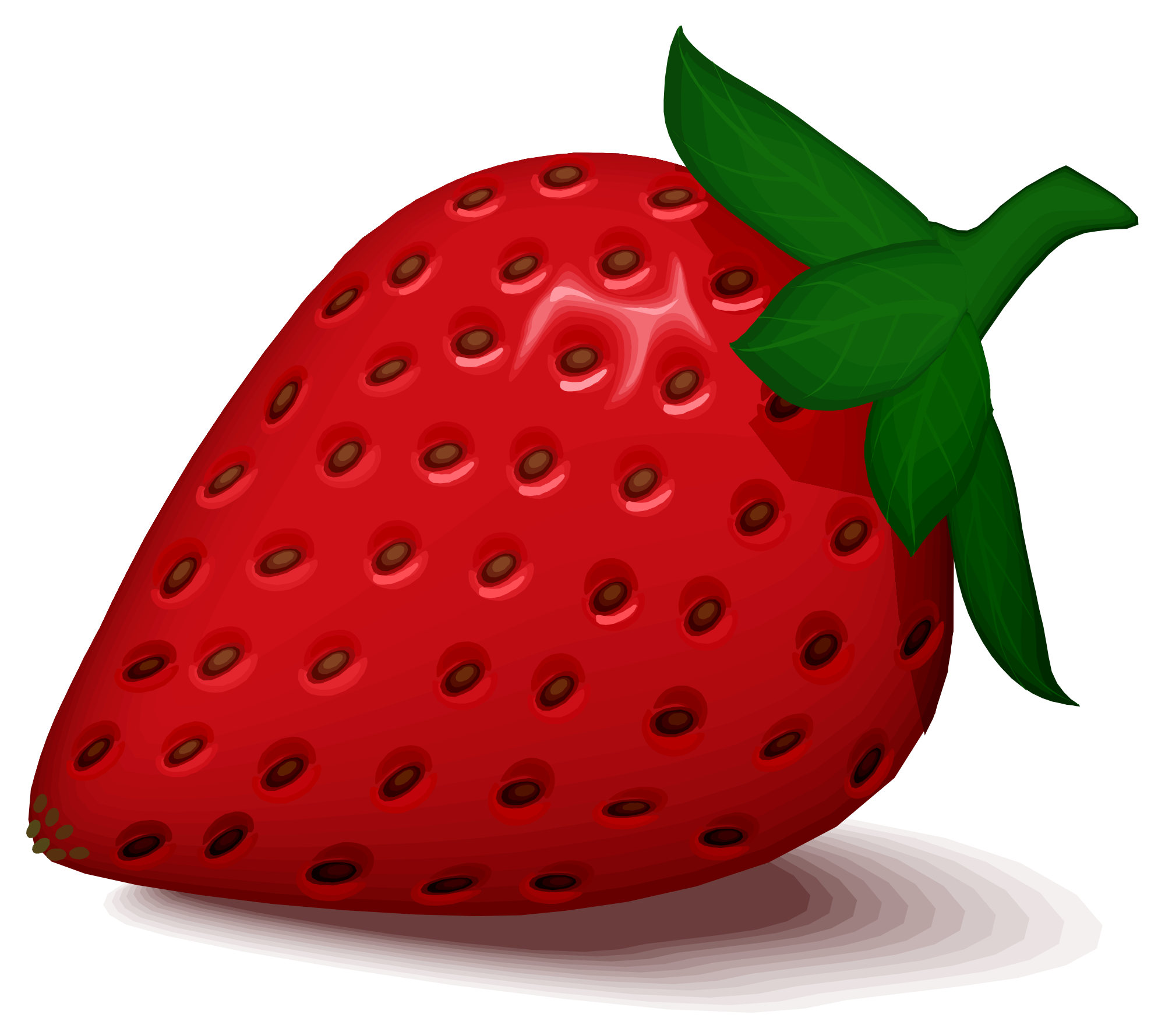 Strawberries clipart svg. File strawberry by cactus