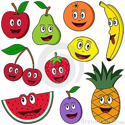 Strawberries clipart ten. Collection of funny cartoon