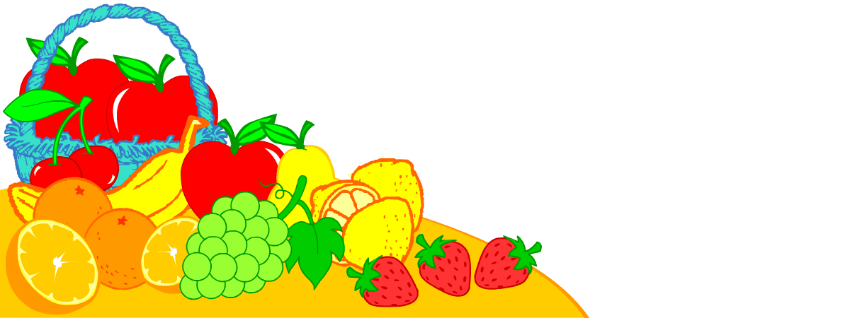 English vocabulary for kids. Strawberries clipart ten