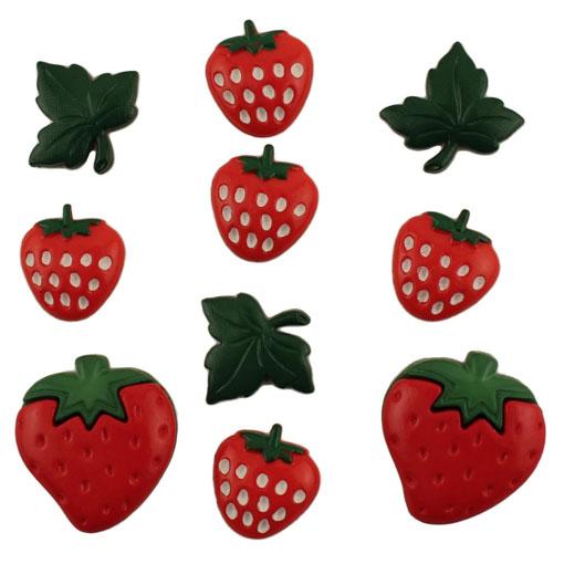 Strawberries clipart ten. American button garaud abo