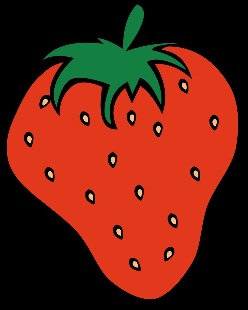 Strawberries clipart vegatable. Public domain clip art
