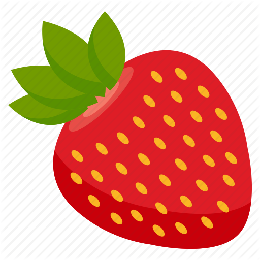 fruit icon by. Strawberries clipart vegatable