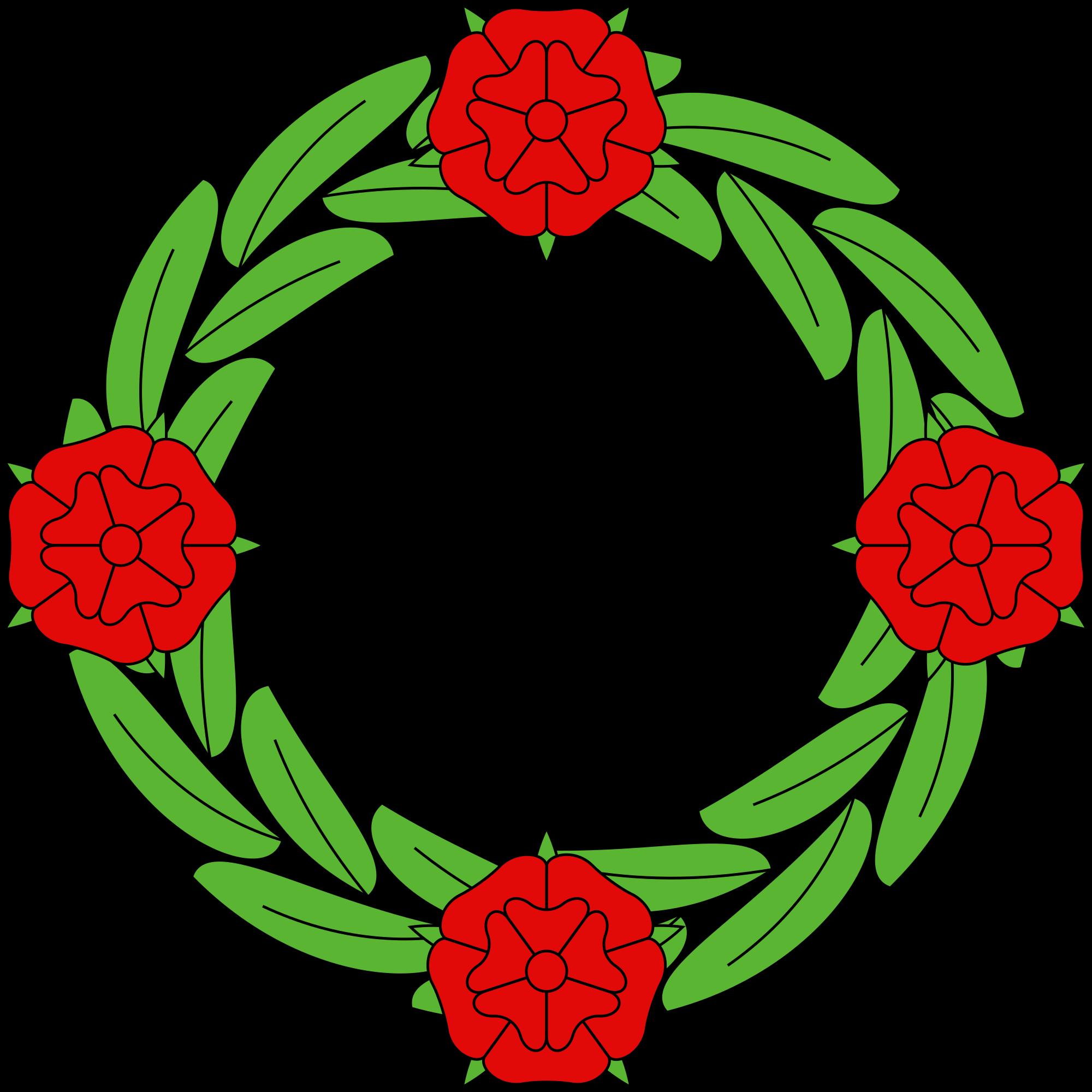 File couronne de rose. Strawberries clipart wreath
