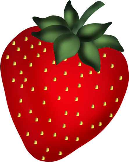strawberries clipart