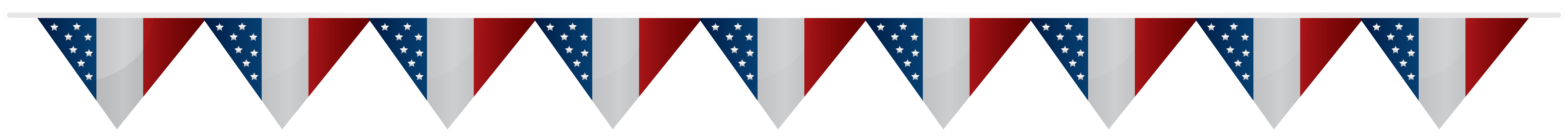 Streamers clipart 4th july. Usa streamer transparent png