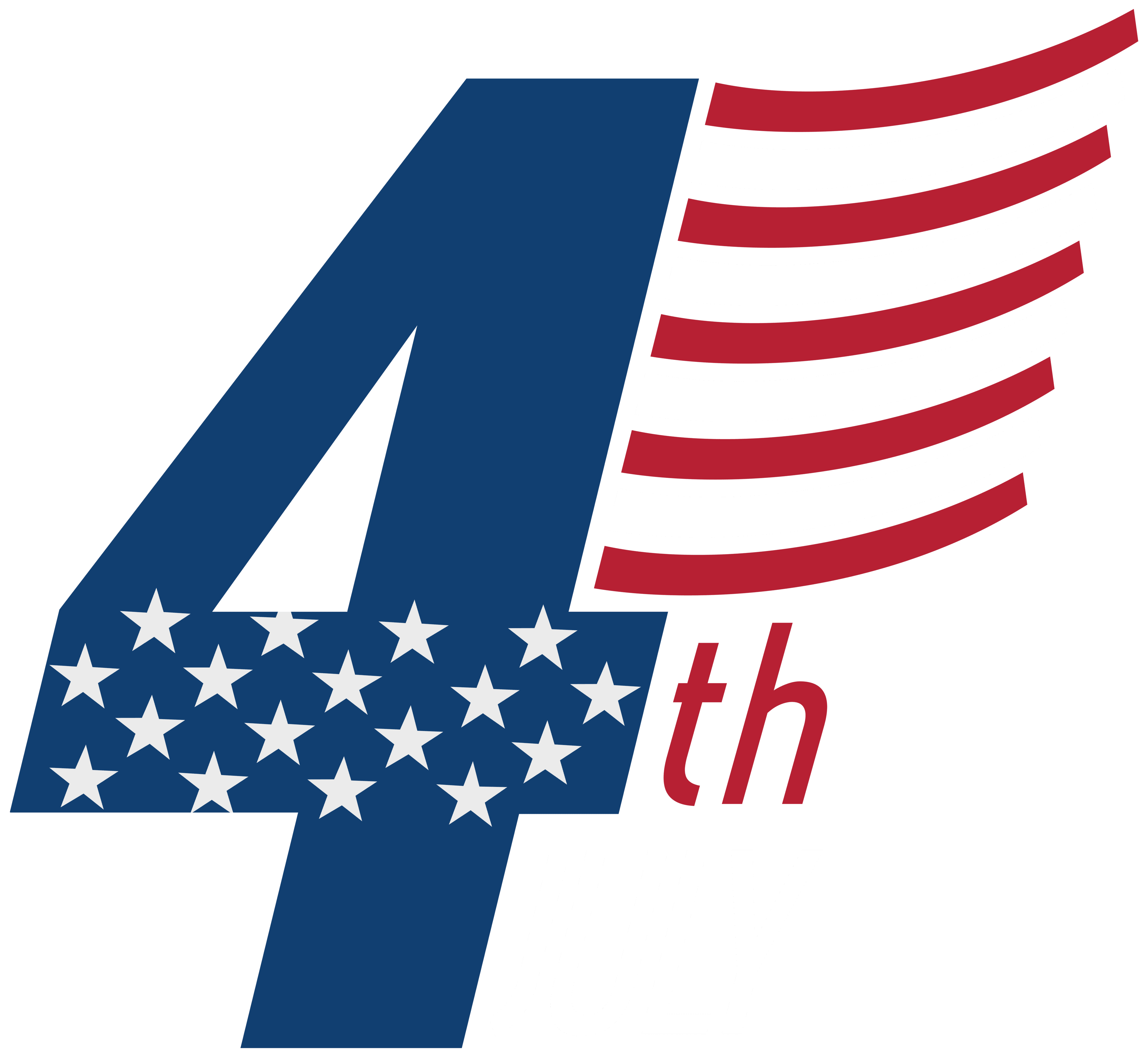 Streamers clipart 4th july.  th png clip
