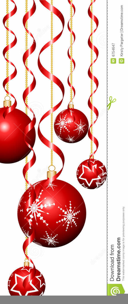 Streamers clipart christmas. Free images at clker