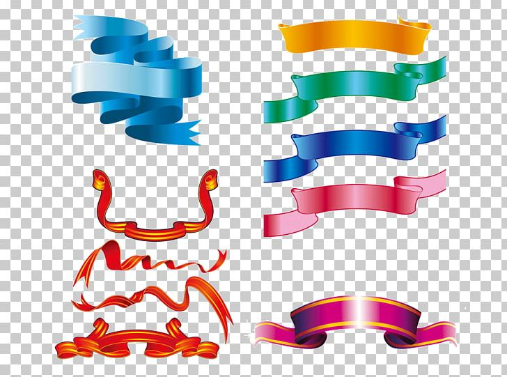 Streamers clipart colored ribbon. Web banner png abstract