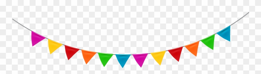Party streamer image thanks. Streamers clipart deco