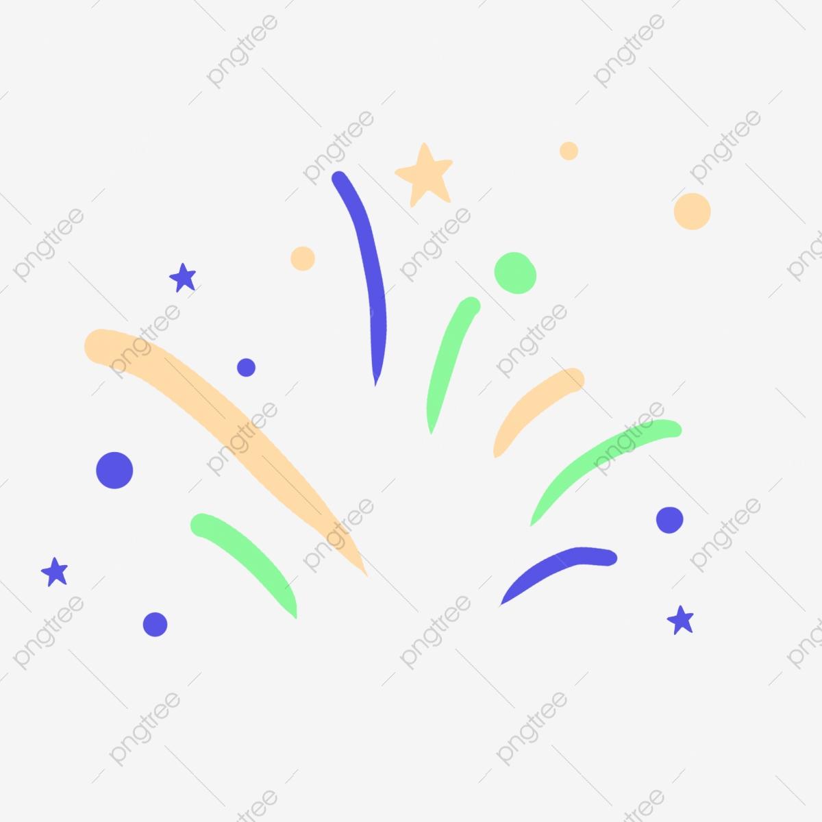 Streamers clipart festival decoration. Color celebration streamer cartoon