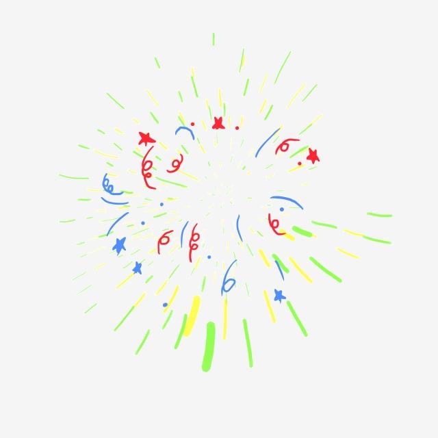 Color celebration streamer cartoon. Streamers clipart festival decoration