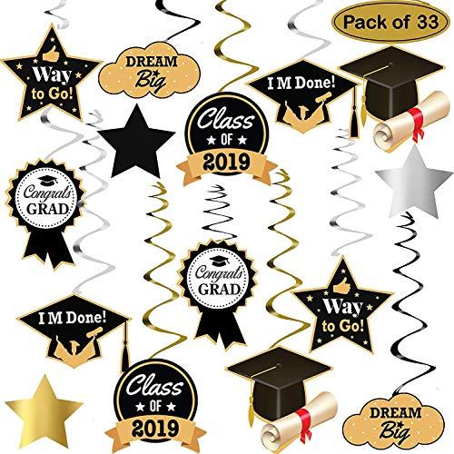 Streamers clipart graduation. Party amazon com