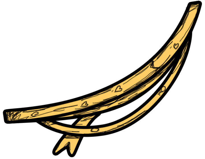 Streamers clipart misc. Image png bendy and