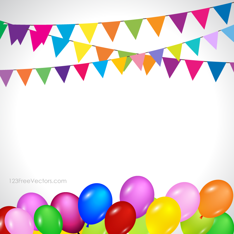 Streamers clipart misc. Clip art balloon party
