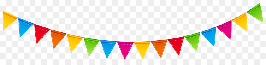 Free birthday transparent download. Streamers clipart party banner