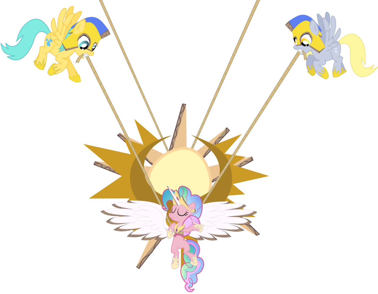 My little pony xi. Streamers clipart party horn