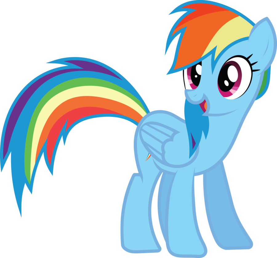 Streamers clipart rainbow. Pony party at the