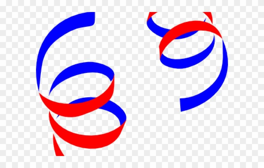 Streamers clipart ribbon. Swirls white and black