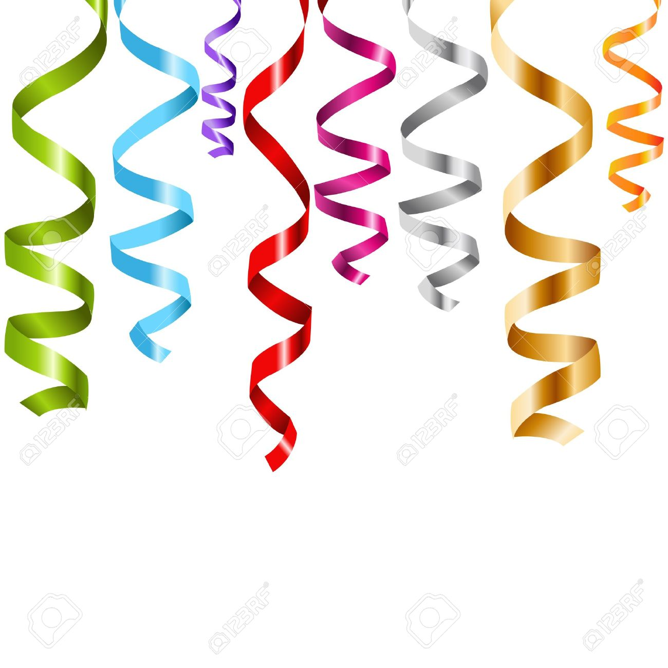Streamers clipart spiral. Cliparts free download best