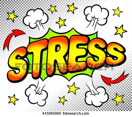 Coping with image album. Stress clipart