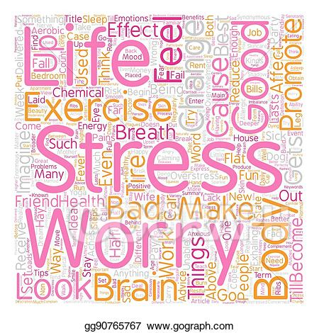 Stress clipart body. Vector how effects your