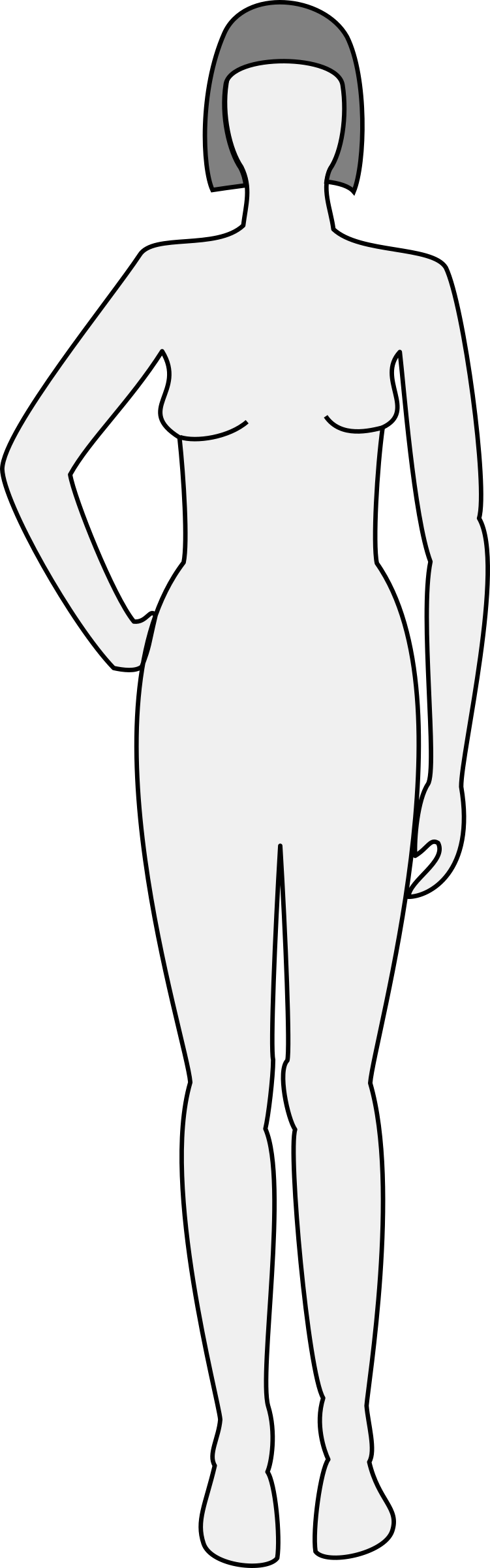 Stress clipart body. Silhouette thinglink and o