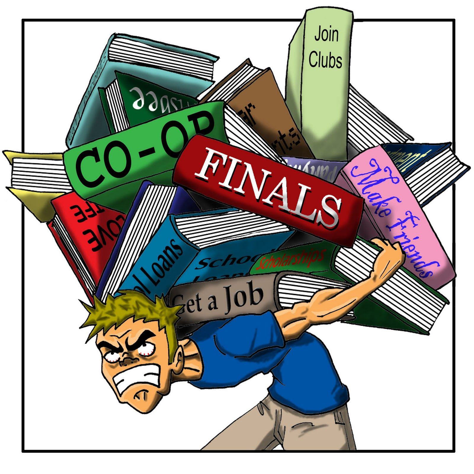 Stress clipart college stress. How to deal with