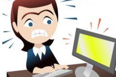 Clip art uk da. Stress clipart computer stress