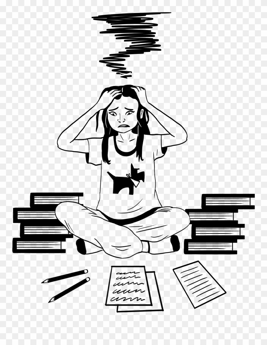 Stress clipart drawing.  x pinclipart