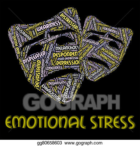 Stress clipart emotional stress. Clip art represents heart