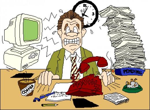Stress clipart job stress. Free work cliparts download